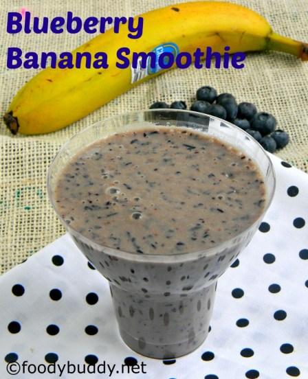 banana blueberry smoothie recipe