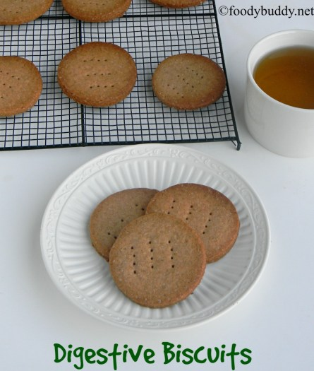 easy digestive biscuits recipe
