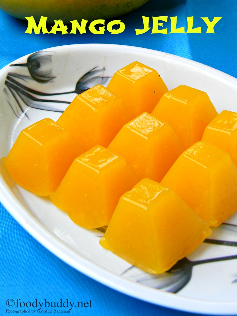 Easy Mango Jelly Recipe Using Agar Agar
