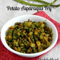 Asparagus Potato Fry / Asparagus Recipe Indian Style