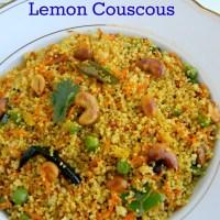 Lemon Couscous Recipe Indian Style / Easy Breakfast