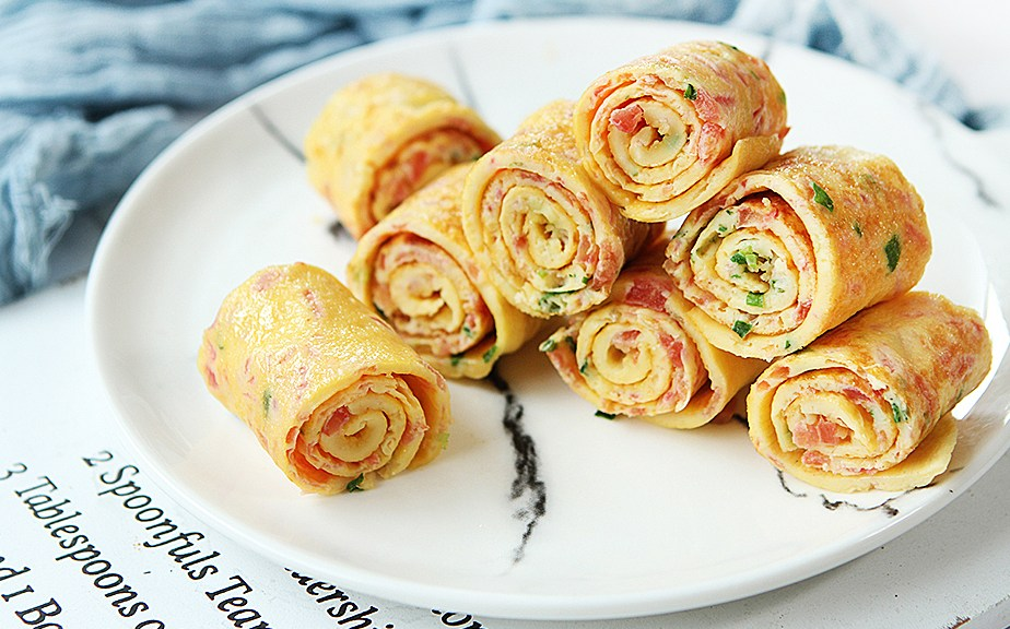 tomato egg roll recipe