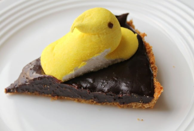 Easter Chocolate Tart