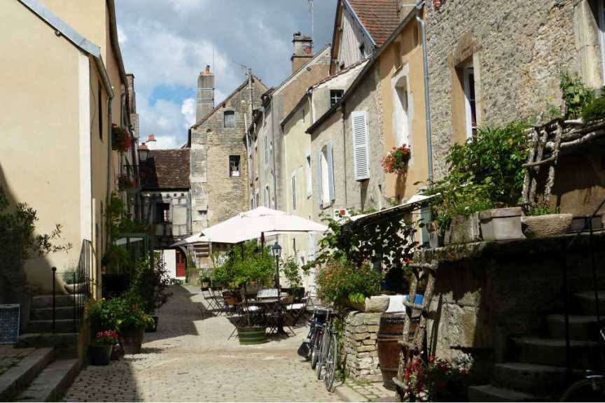 Burgundy street
