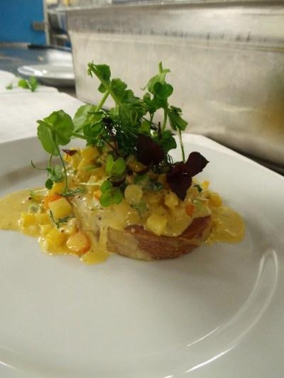 Hurtigruten - Lamb Dish