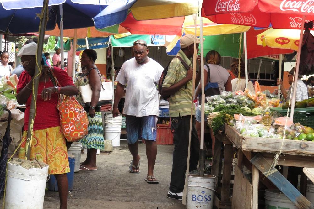 Saint Lucia market