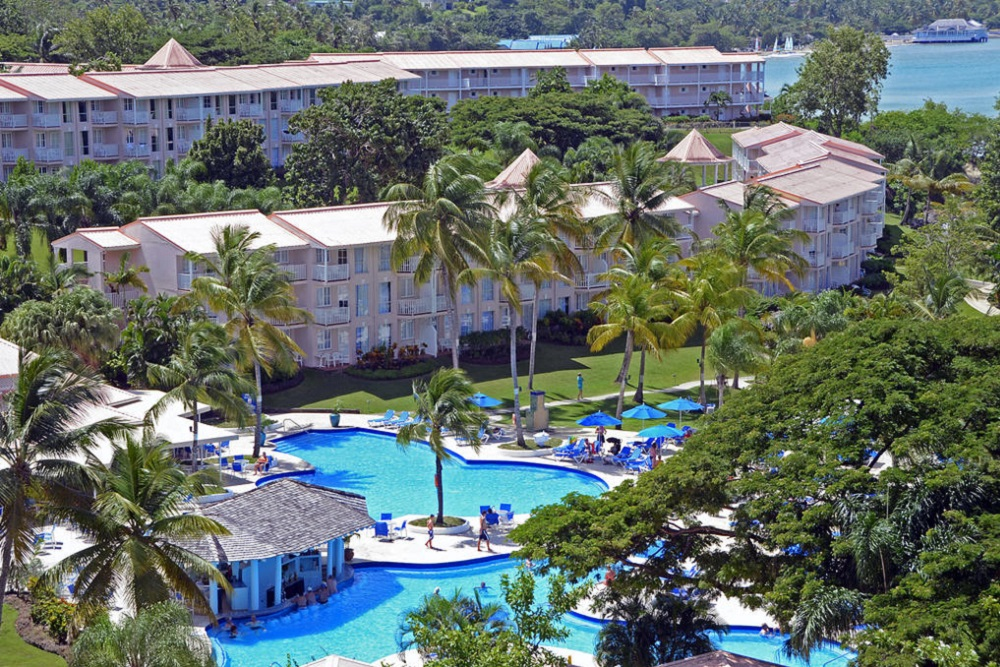 St Lucia resort