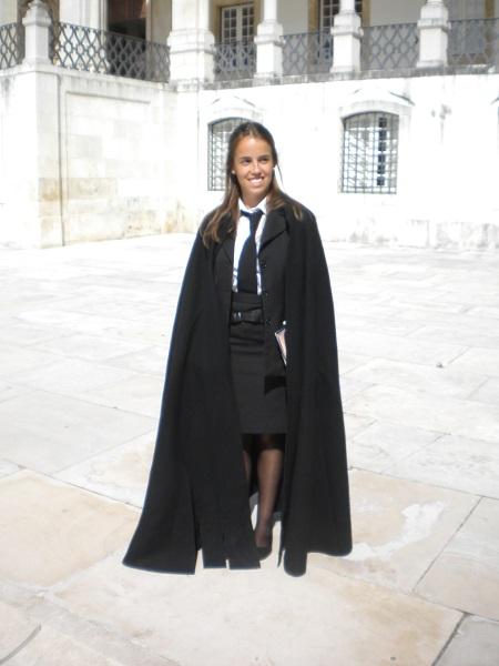 Hogwarts cloak at Coimbra University