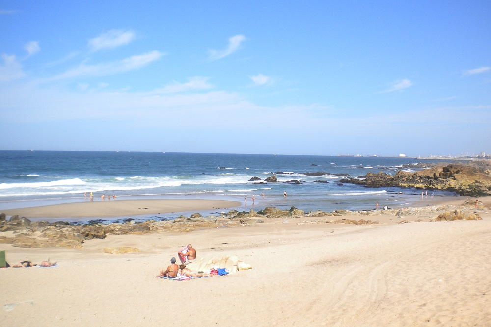 beach at espinho