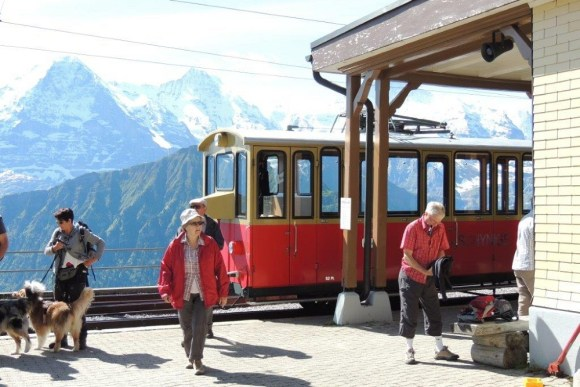 jungfrau peak train