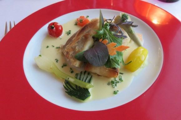 Clery Le Berthier fish main course