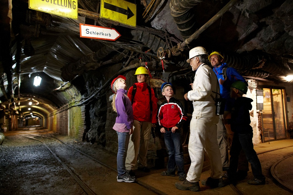 Inside the Rammelsberg mine at Goslar