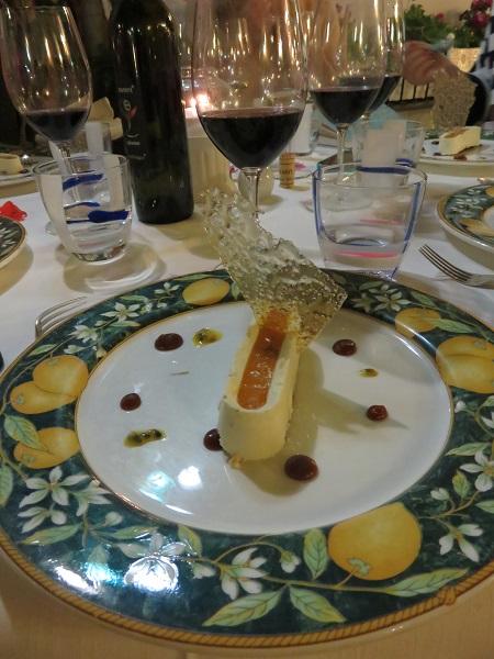 Sorrento LAntica Trattoria favourite dessert