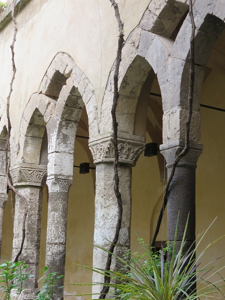 Sorrrento is a honey pot cloisters Chiesa di San Francesco