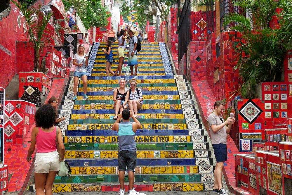 Rio Escadaria Seleron