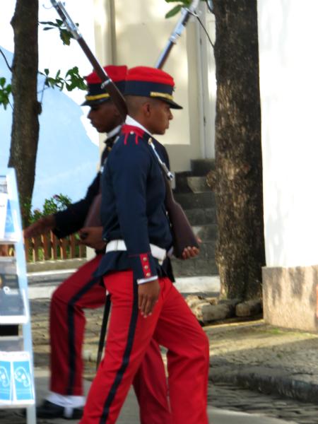 Rio Fort Copacabana Changing the Guard