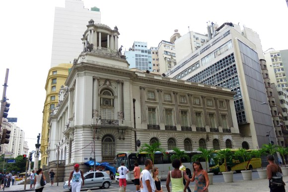 Rio city Centre old and new