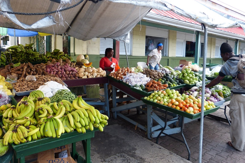 antigua fruit market