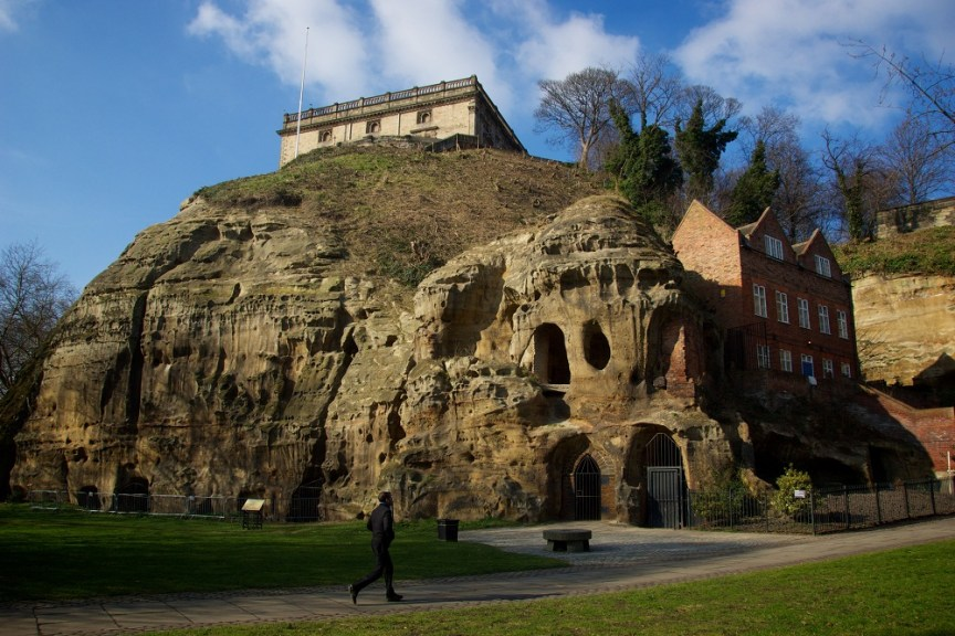 Nottingham Castle. Please credit VisitEngland
