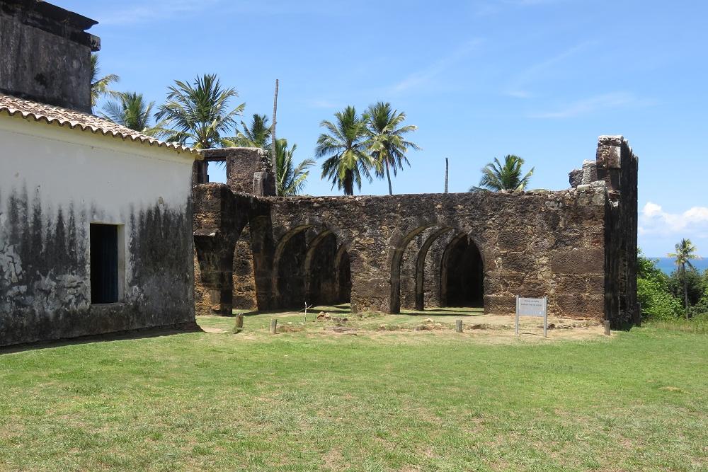 Salvador Small Towns and Cigars ruins of Castelo do Garcia dAvila