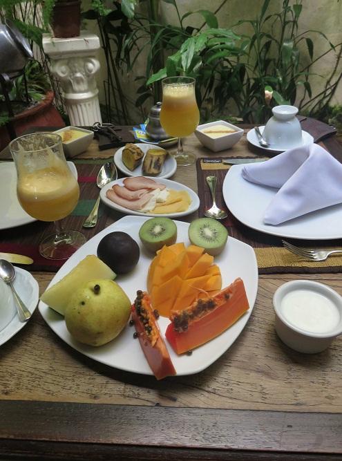 Bahia Simply the Best Breakfast award
