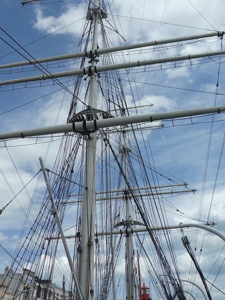 3. Dunkirk Port Muiseum rigging of Duchesse Anne
