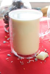 Homemade White Hot Chocolate