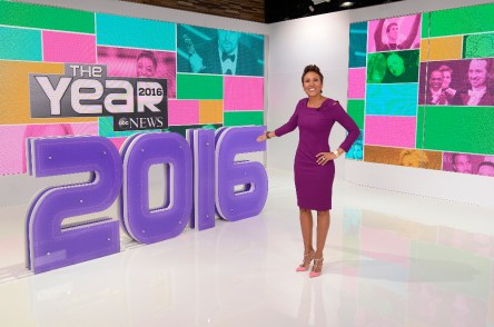 THE YEAR: 2016 - Anchored by Robin Roberts, with the award-winning team of ABC News anchors, THE YEAR: 2016 looks back on the most memorable and newsworthy moments of the year. The two-hour annual special airs on TUESDAY, DEC. 20 (9-11pm, ET) on the ABC Television Network. (ABC/ Ida Mae Astute) ROBIN ROBERTS