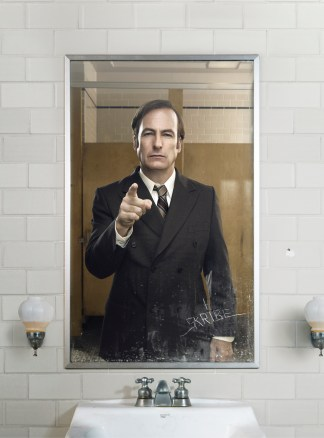 Bob Odenkirk as Saul Goodman - Better Call Saul _ Season 1, Gallery - Photo Credit: Ben Leuner/AMC