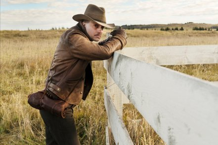 """DAMNATION -- """"Sam Riley's Body"""" Episode 101 -- Pictured: Logan Marshall-Green as Creeley Turner -- (Photo by: Chris Large/USA Network)"""
