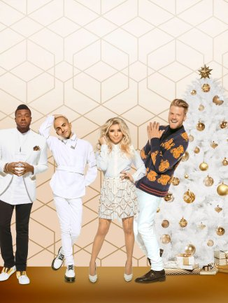 "A VERY PENTATONIX CHRISTMAS -- Pictured: ""A Very Pentatonix Christmas"" Key Art -- (Photo by: NBCUniversal)"