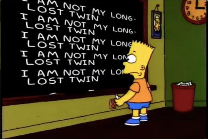 Simpson Long Lost Twin