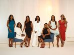 MARRIED TO MEDICINE -- Season:6 -- Pictured: (l-r) Simone Whitmore, Jacqueline Walters, Toya Bush-Harris, Quad Webb Lunceford, Heavenly Kimes, Contessa Metcalfe, Mariah Huq -- (Photo by: Mark Hill/Virginia Sherwood/Bravo)