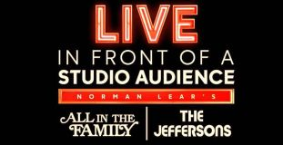 live in front of a studio audience