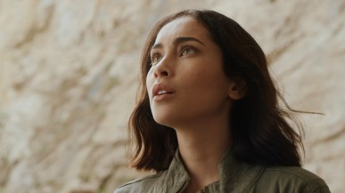 "Pandora -- ""Shelter From The Storm"" -- Image Number: PAN101_0005.jpg -- Pictured: Priscilla Quintana as Jax -- Photo: The CW -- © 2019 The CW Network, LLC. All Rights Reserved."