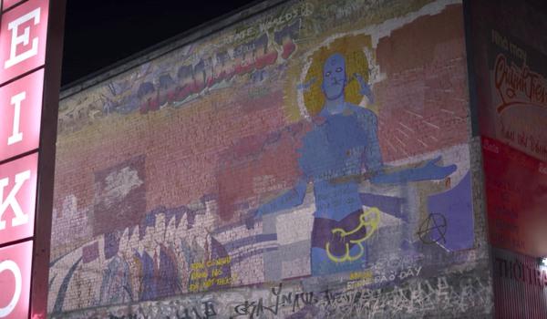doctor manhattan penis graffiti watchmen
