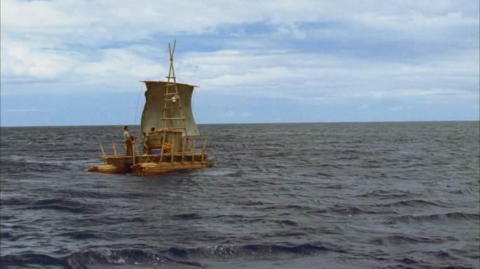 exodus part 2 lost raft at sea