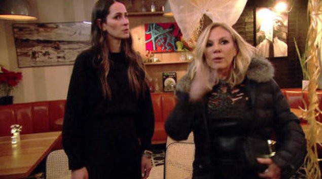 rhony ramona bossing restaurant real housewives of new york