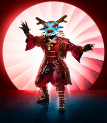 THE MASKED SINGER: Dragon. The Season Four premiere of THE MASKED SINGER airs Wednesday, Sept. 23 (9:00-10:00 PM ET/PT) on FOX. © 2020 FOX MEDIA LLC. CR: Michael Becker/FOX.