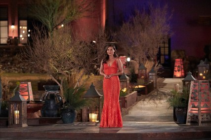 """THE BACHELORETTE - After appearing in the landmark 25th season of """"The Bachelor,"""" Katie Thurston repeatedly stood up against bullying and negativity; and women all over America applauded her. The 30-year-old Washington native became an instant fan favorite for her memorable arrival on night one where she introduced herself to Matt, light-up vibrator in tow. Unapologetically herself, Katie is adventurous, daring and ready to step into the spotlight for her own love story. Season 17 of """"The Bachelorette"""" premieres Monday, June 7 (8:00-10:00 p.m.), on ABC. (ABC/Craig Sjodin) KATIE THURSTON"""