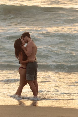 """BACHELOR IN PARADISE - """"Episode 303A"""" - The third day in the gorgeous town of Sayulita, Mexico, picks up after the dramatic cliffhanger, on the next episode of the highly anticipated """"Bachelor in Paradise,"""" MONDAY, AUGUST 15 (8:00-10:00 p.m. EDT). (ABC/Rick Rowell) CAILA QUINN, JARED HAIBON"""