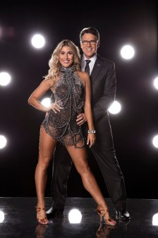 """DANCING WITH THE STARS - EMMA SLATER AND GOVERNOR RICK PERRY - The stars grace the ballroom floor for the first time on live national television with their professional partners during the two-hour season premiere of """"Dancing with the Stars,"""" which airs MONDAY, SEPTEMBER 12 (8:00-10:01 p.m., ET) on the ABC Television Network. (ABC/Craig Sjodin)"""