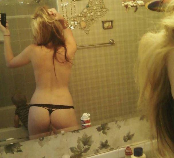 bahroom thong