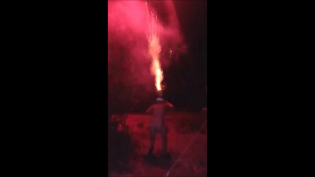 naked fireworks