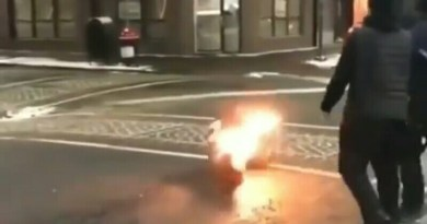 A Man Caught Fire After Getting Tased By Some Philly Security Guards
