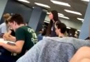 SHUSH! Girl Loudly Confronts The Chick That Had Sex With Her Boyfriend In The School Library