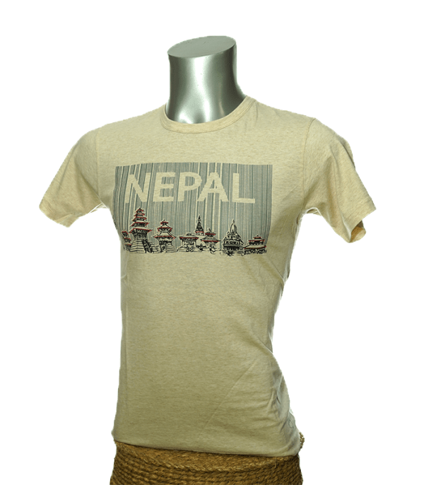 Nepal barcode t-shirt