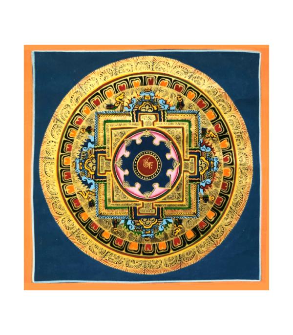Thangka - OM Mandala Astamangal