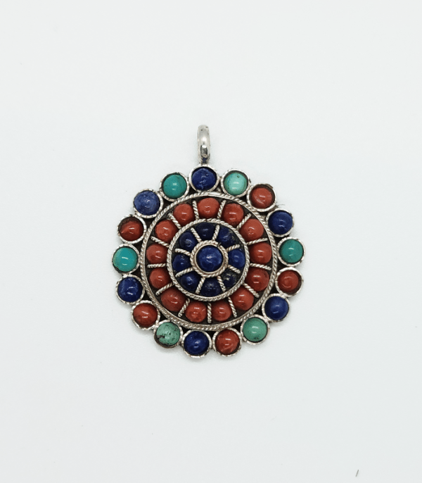 Jewelry: Coral Dull Pendant