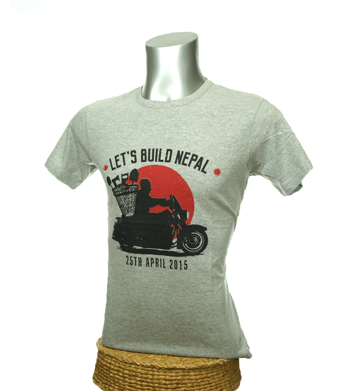 T-Shirt: Let's Build Nepal